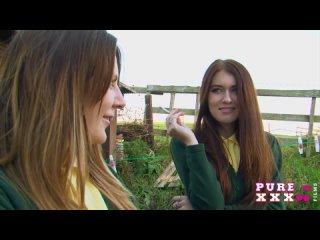 Misha Cross - Very Naughty Schoolgirls (with Samantha Bentley) [Lesbian]
