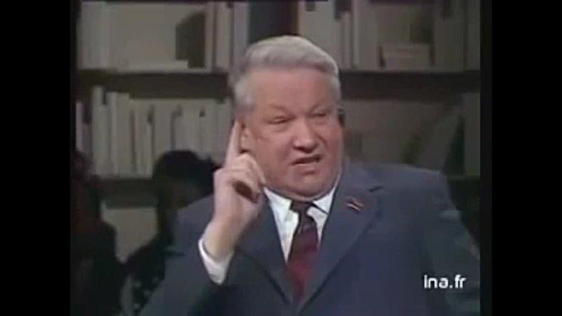 Ельцин о дачах Горбачева 240p mp4