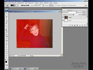 159. Уроки фотошопа - Подробно обо всех видах масок_ быстрая, маска слоя, обтрав
