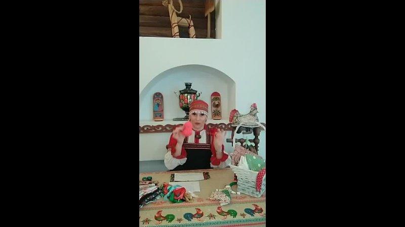 Мастер класс по изготовлению народной куклы оберега Веснянка