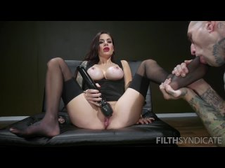 Gia DiMarco - Filthy Pig Worships her Feet