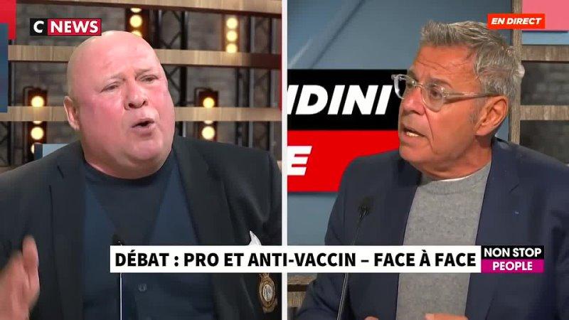 Débat pro et anti vaccin COVID-19 - Me Carlo Alberto Brusa et le Dr. Jean-Michel Cohen - Morandini - CNEWS