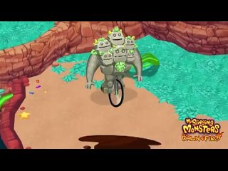 Quarrister is so good at unicycling, it now does it with its eyes closed! ️ This joyful ride turned into an obstacle course endi