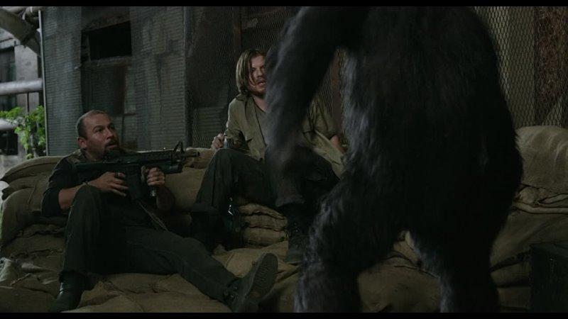 планета обезьян фильм 2