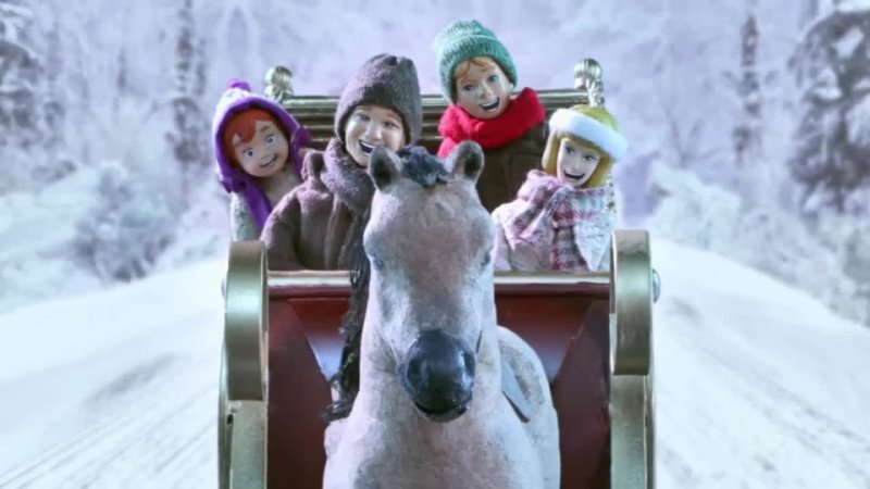 Робоцып 7 сезон 1 серия конь в зимнем лесу
