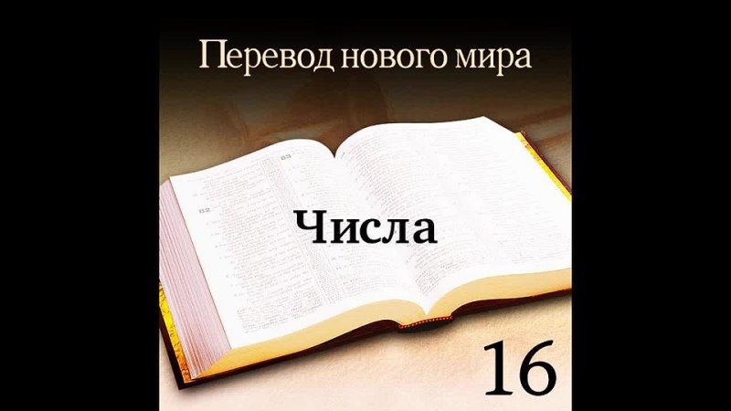 БИБЛИЯ ЧИСЛА 16 20