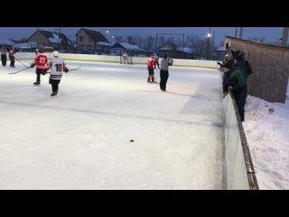 Хоккей Нововаршавка - Любино, Праздник Севера-2021, играют в Черлаке