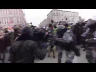 Драка на митинге