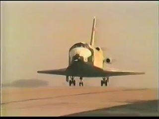 Испытания БТС-002(Самолет-Аналог БУРАНа) 1986