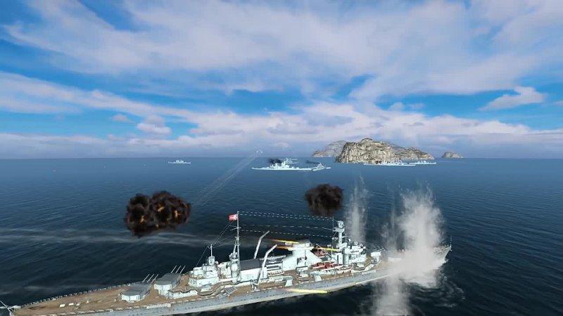 World of Warships Blitz RU World of Warships Blitz Школа Кораблей 2 Типы Снарядов