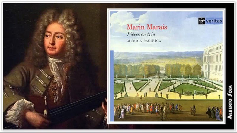 Marin Marais Pièces en trio for 2 treble instruments continuous Musica Pacifica 1996