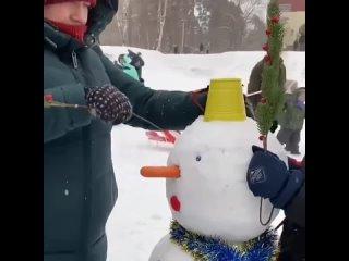 Фестивать снеговиков в Казани