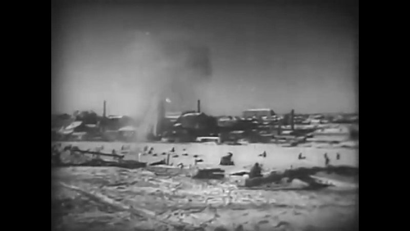 Освобождение Ростова на Дону 14 02 1943г фрагмент из к ф Я Ростов