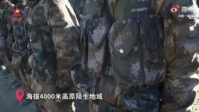 стрельбы китайских самоходных Васильков на высоте более 4000 метров в Тибете