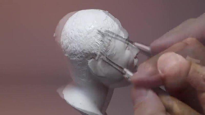 지점토로 눈사이먼도미 이상준 만들기 Sculpting Sang jun Lee Korean Comedian