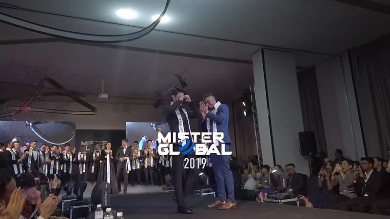 Modelo da Coréia do Sul vence o Mister Global 2019