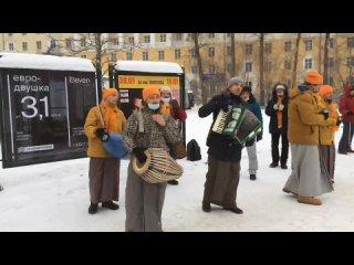 Харинама с Арджуной Кришной прабху в Екатеринбурге