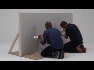 Как вырезают квадратное отверстие в гипсокартоне Строительные хитрости