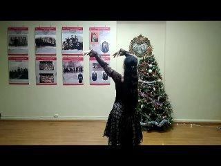 Персидский танец - импровизация под сантур