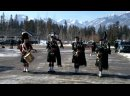 Canadian Bagpipes - Green hills of tyrol _ When the battle is over