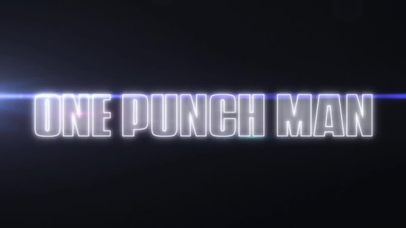 One Punch Man Ванпанчмен 1 opening