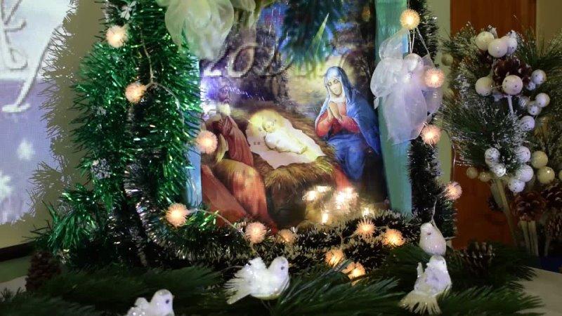 Рождественское поздравление клириков храма в честь иконы Божией Матери Всех скорбящих Радость