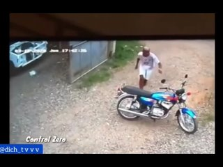 Угнал мотоцикл