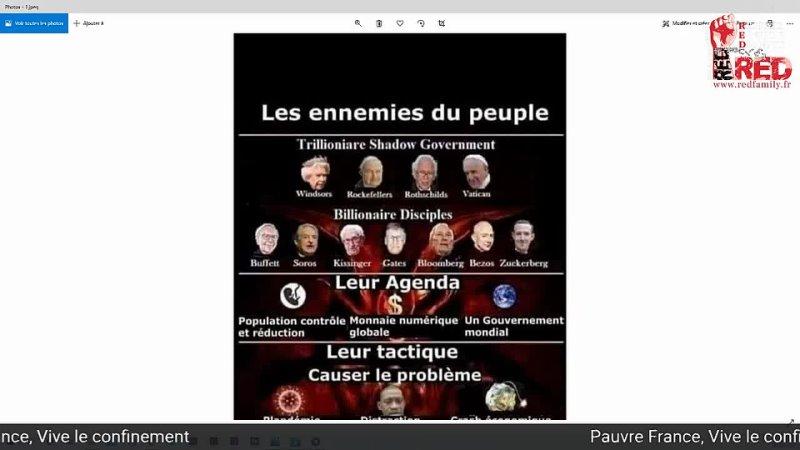 Pauvre France Vive le confinement
