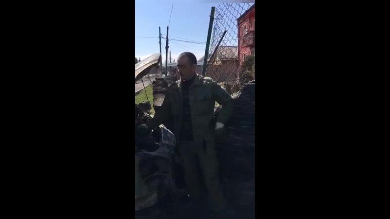 общественному деятелю Ибрагиму Караеву сожгли автомобиль