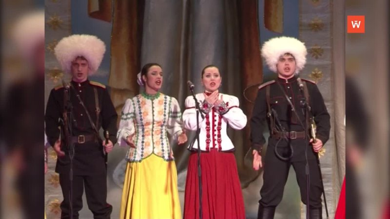 Ретроспектива 2012 концерт казачьего ансамбля Атаман