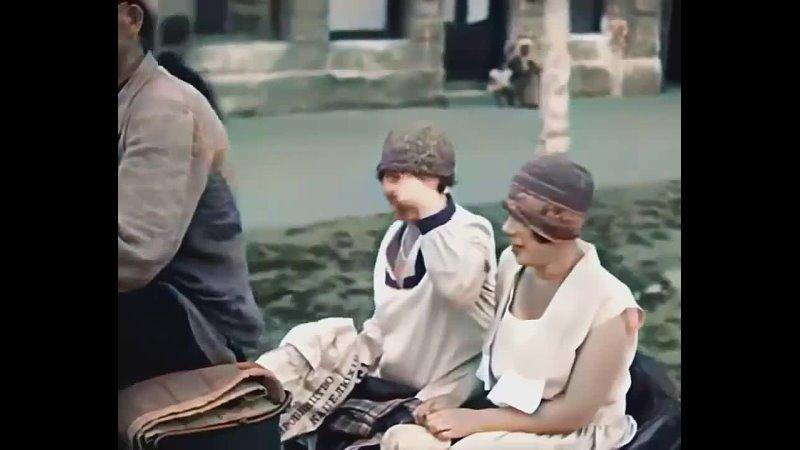 ⚜️НЭП Одесса 1929 г взгляд в прошлое Современные технологии обработкистарого видео в действии