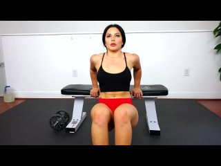 HOT Fitness Models Intense Home Gym Workout! Part