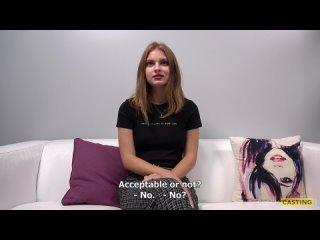 Первый секс 18-летней чешки перед объективом камеры кончился успешно
