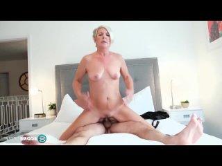 ПОРНО -- ЕЙ 55 -- ПАРЕНЬ ДОЧЕРИ ХОРОШО В ПОСТЕЛИ -- porn sex milf mature -- Constance Joy