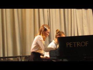 В. Азарашвили Хота Фортепианный дуэт ДМШ №1 им. П.И. Чайковского г.Березники