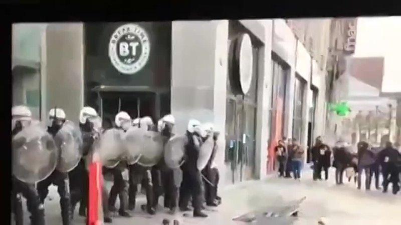 11 раненых итоги побоища чернокожих с бельгийской полицией