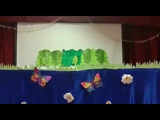 🧩 Коллектив кукольного театра «Весёлые ребята» - сказка «Дружба народов», руководитель Блынская Т. С., с. Красный Яр