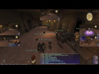 Final fantasy XI first time !!6boxing!!   Limit Break 60