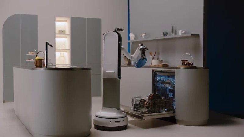 Робот домработница от Samsung CES 2021