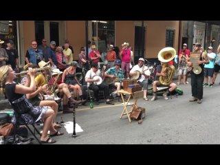 Tuba Skinny live Shake It and Break It on Royal St