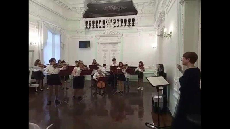 И. С. Бах Концерт для 2х скрипок ре-минор, 1 часть