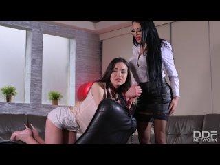 Nataly gold & anastasia doll aka anastasia sweet submitting to her lesbian mistress [anal, strap on, lesbian