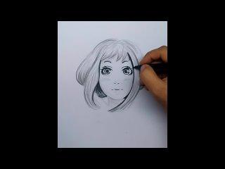 Uraraka Ochako My Hero Academia Speed Draw