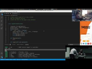 Logging My  on #kivy, #kivymd Project for #Android #iOS store app in #pyhton #vscode on #Arch #Linux. Listening to