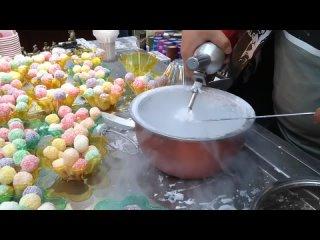 International Travel 2018. China. Xian  market Ice Cream