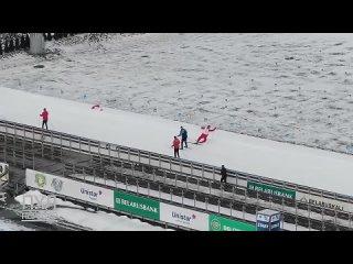 Лукашенко принял участие в лыжной эстафете. Злой Ямал.