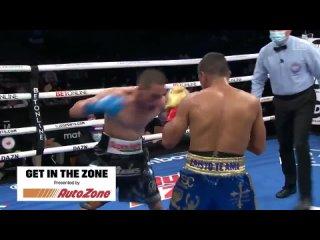 Juan Francisco Estrada & Roman Gonzalez both had their foot on the gas all night long