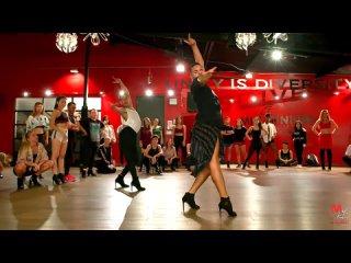 V-22 Yanis Marshall Dance Heels Choreography SELF CONTROL Laura Branigan Millennium Dance Complex Los Angeles