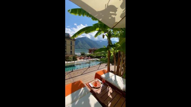 Италия🇮🇹GRAND HOTEL TREMEZZO 5* Отель занимает величественный дворец в стиле ар нуво окруженный старинным парком площадью 20