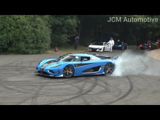 Best Supercar Sounds Of Goodwood Festival Of Speed 2018.